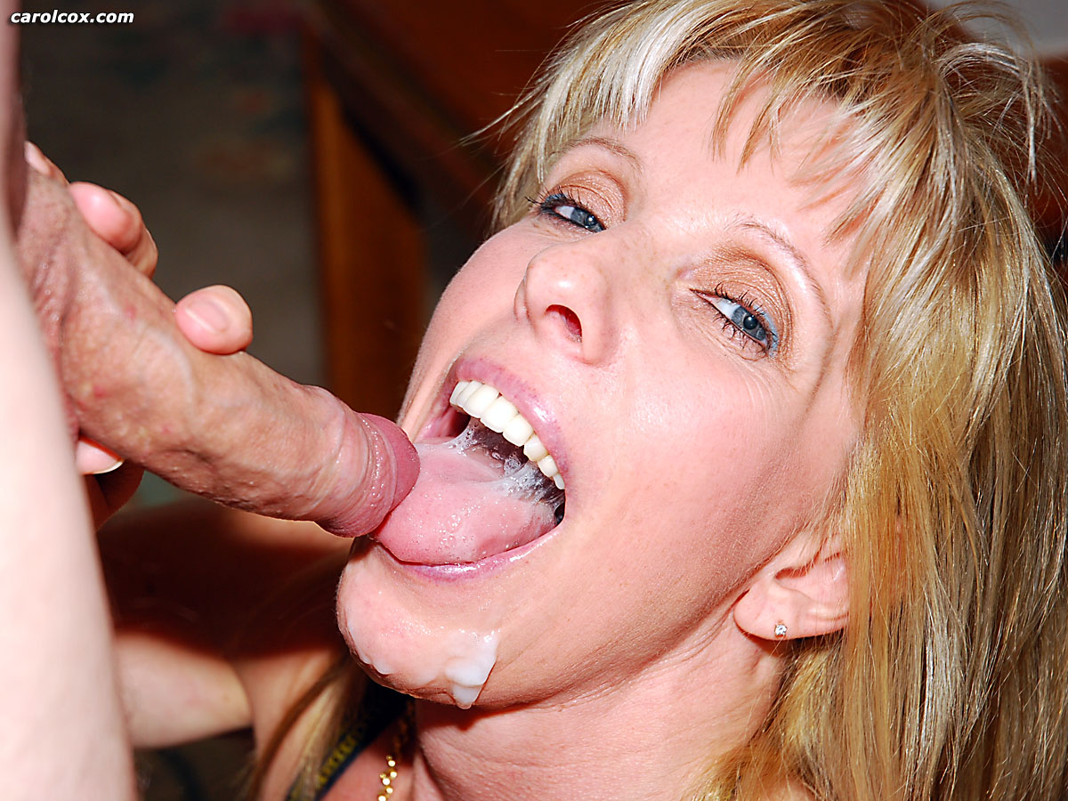 oral cum in mouth